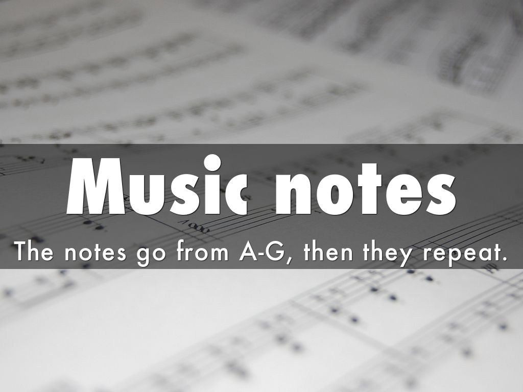music appreciation notes