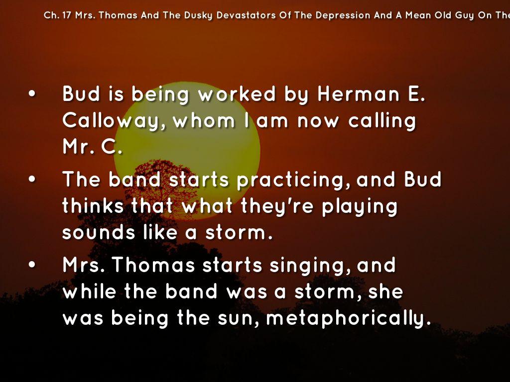 Bud, not Buddy Ch. 13-19 by Emilee Winberg