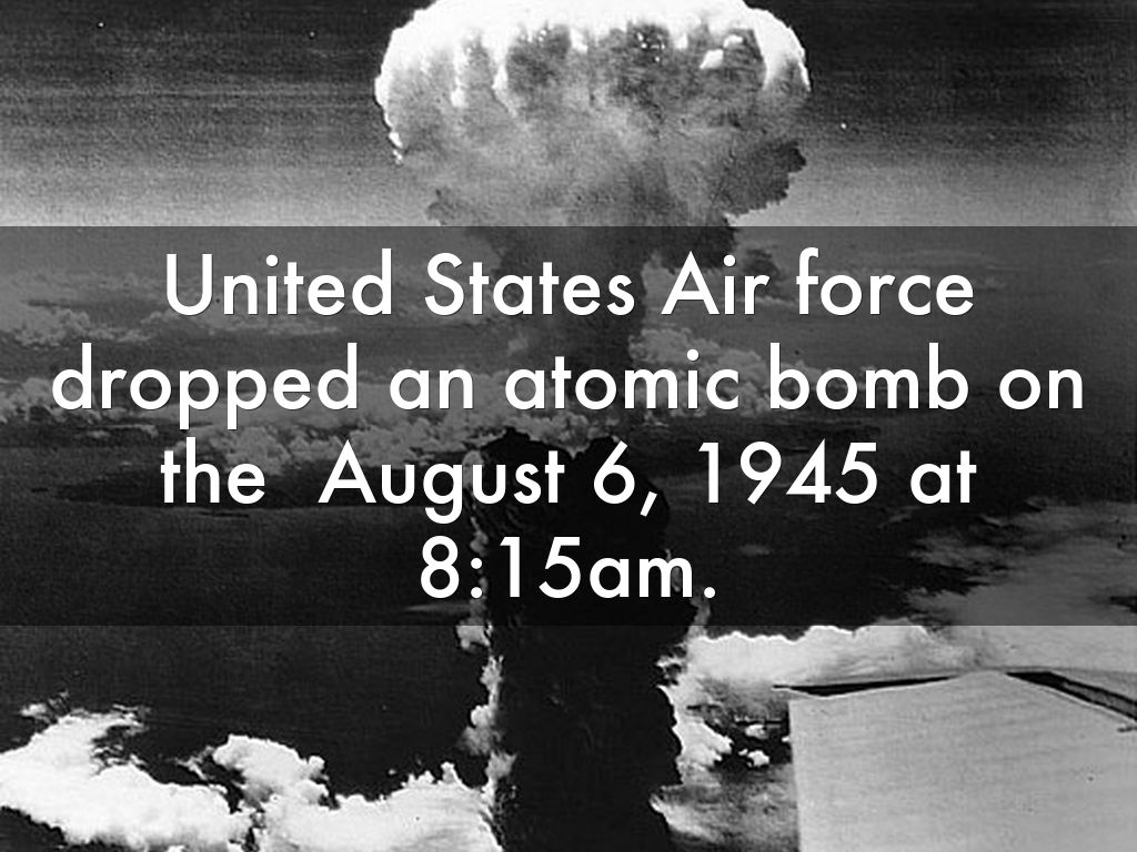 """an argument in favor of the atomic bomb being dropped on japan by the united states But was the us justified in dropping the atomic bombs  the devastation  caused by the bombs sped up the japanese surrender, which was  meant the  atomic bomb had to be hastily deployed """"in the field"""" in order to see its."""