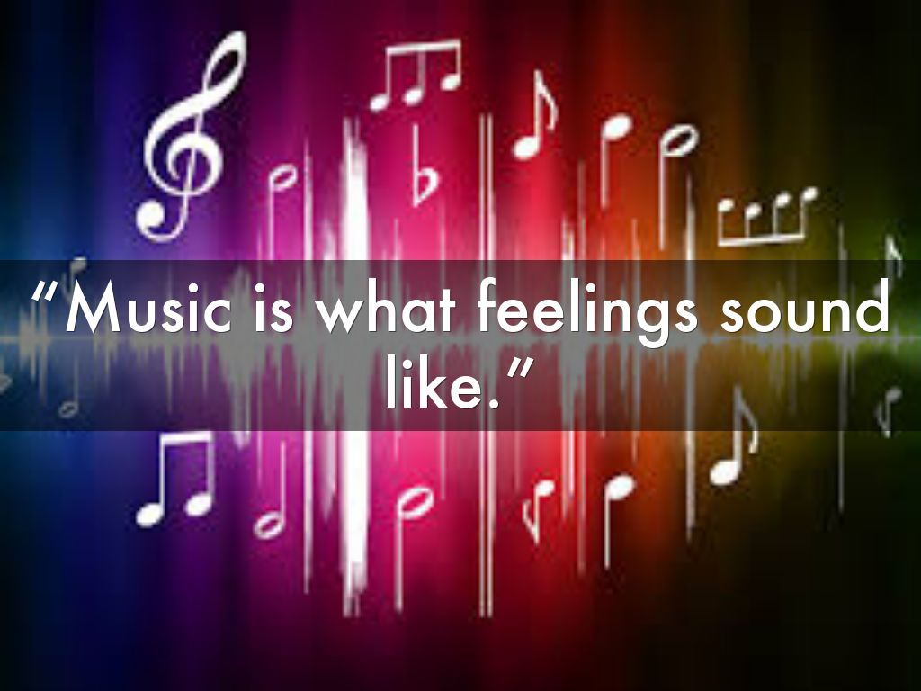 Music is what feelings sound like wallpaper