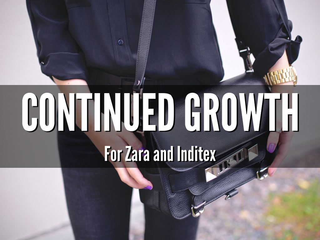 continued expansion pertaining to zara along with inditex essay