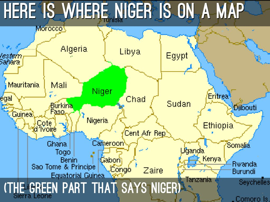 Image result for where is niger
