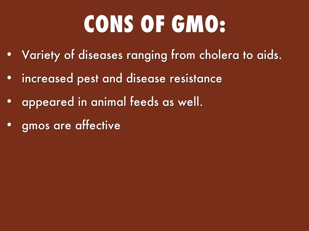 cons of genetic modification of plants essay By evaluating the pros and cons of genetic engineering in humans, we can determine how treating these often painful by weighing the pros and cons thoroughly.
