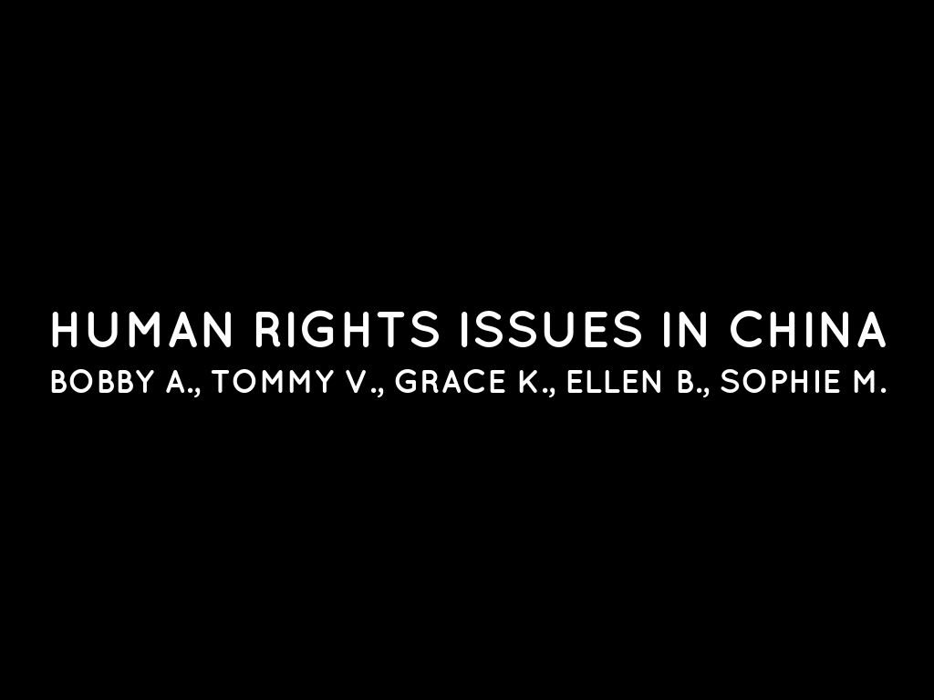 human right issues