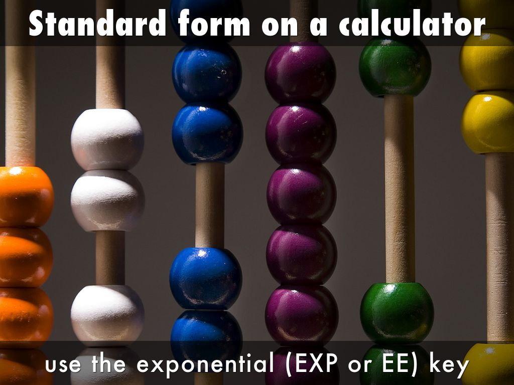 Standard form by charilaos minas how to write a number in the standard form falaconquin