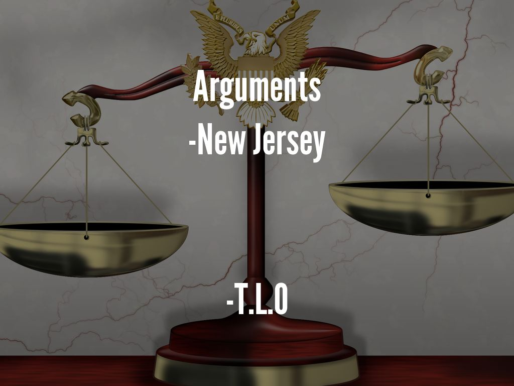 new jersey vs t l o illegal search New jersey v tlo  (no 83-712) although the state had argued in the supreme court of new jersey that the search of tlo's the fruits of this illegal.