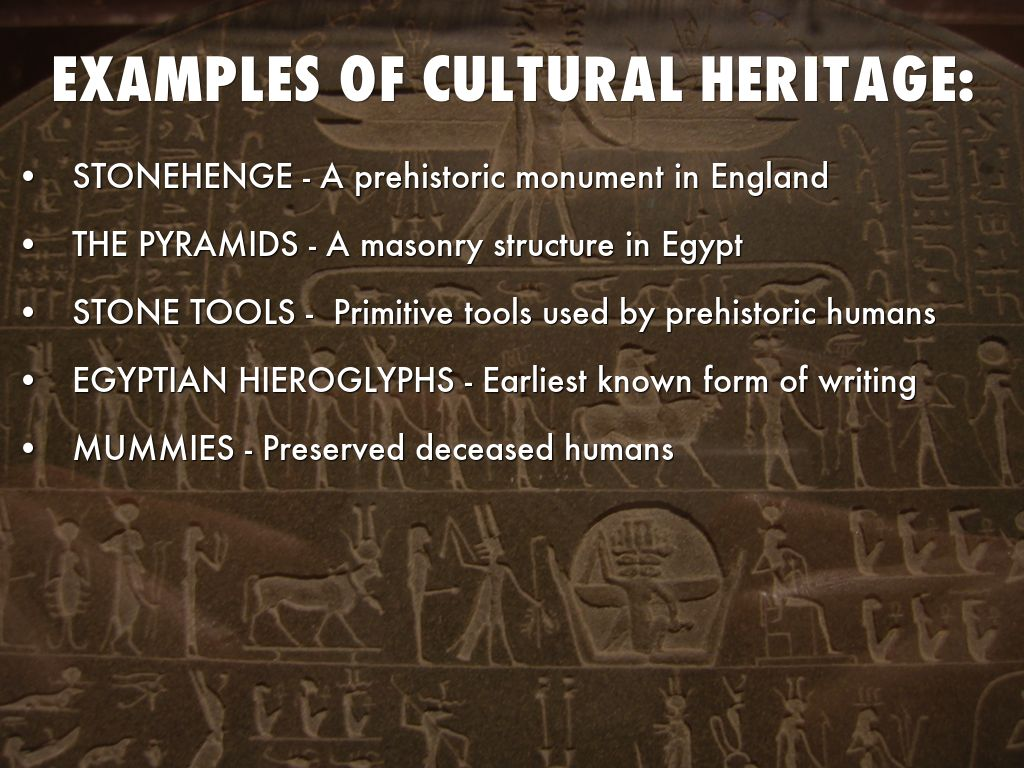 Preservation Of Cultural Heritage By Christina S