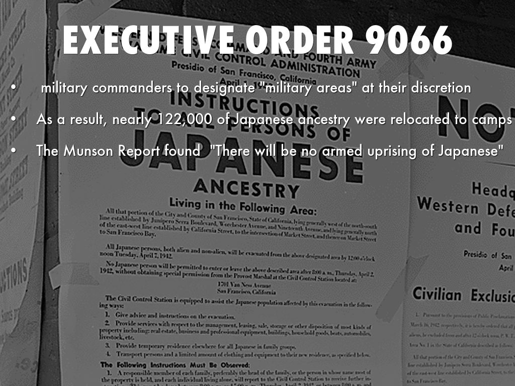 excutive order 9066 Author greg robinson discusses events surrounding executive order 9066.