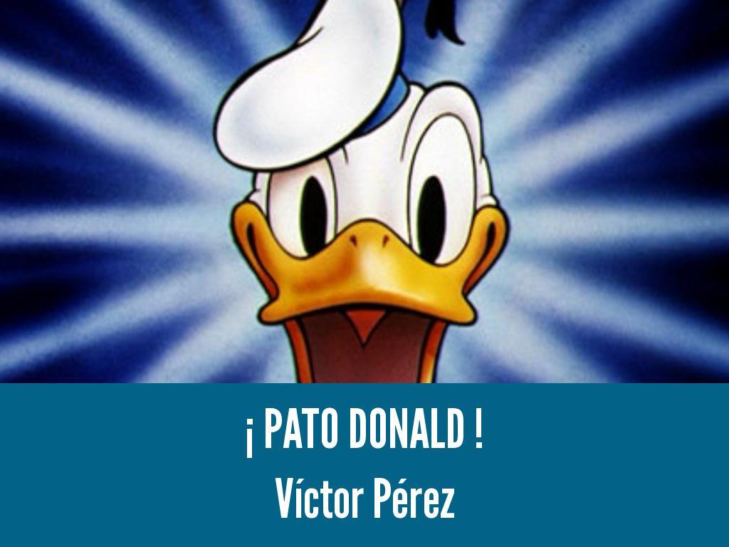 pato donald by victor david perez alarcon