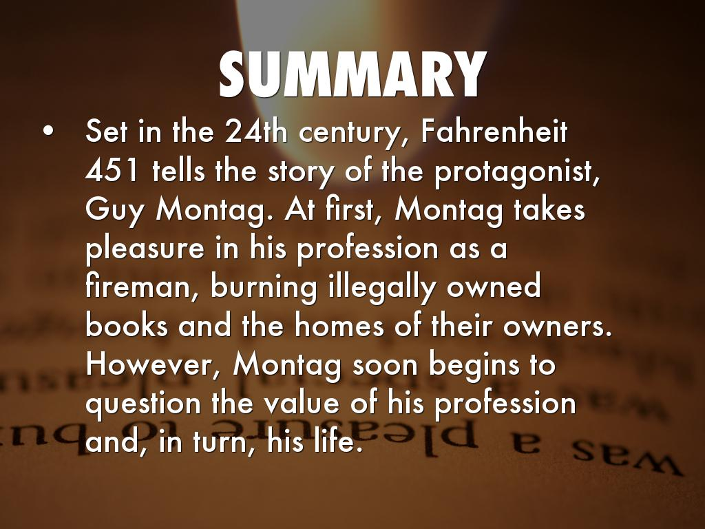 fahrenheit 451 story of montag Fahrenheit 451 full text share sign in the version of the browser you are using is no longer supported please upgrade to a supported browserdismiss file edit.