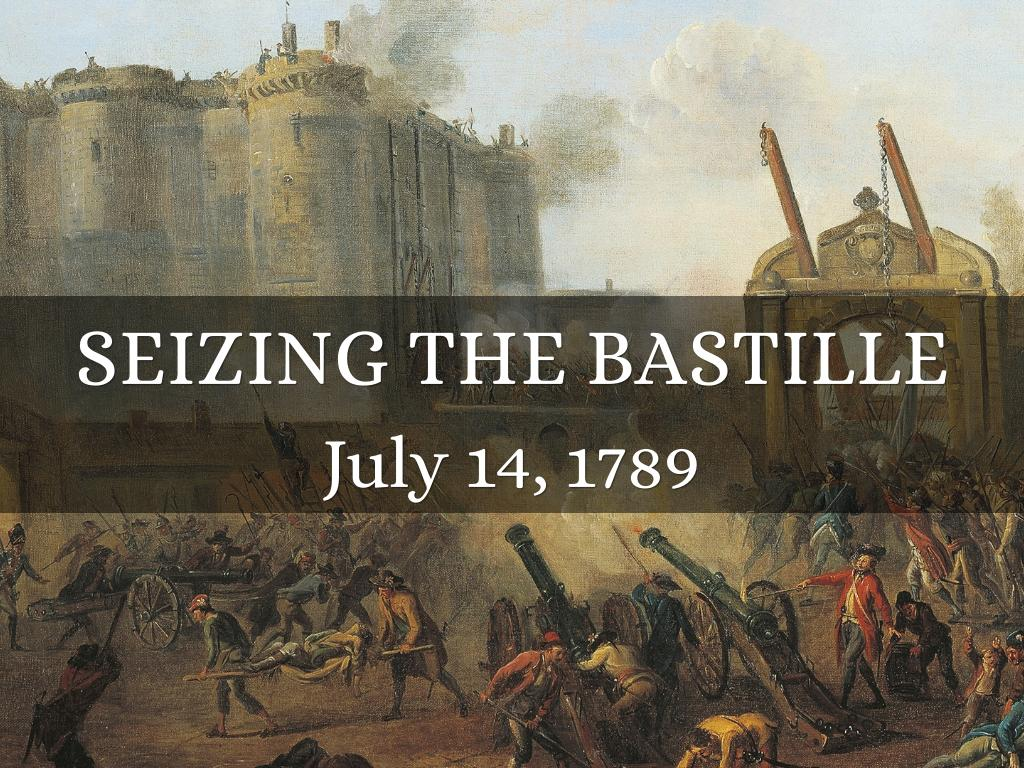 the bastille essay The french revolution was a revolution in france from 1789 to 1799 it led to the end of the monarchy, and to many wars the bastille contained weapons.