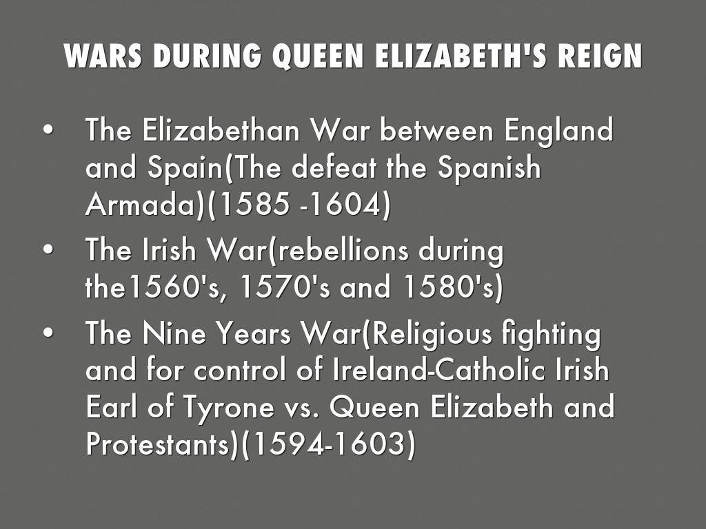elizabethan wars in ireland