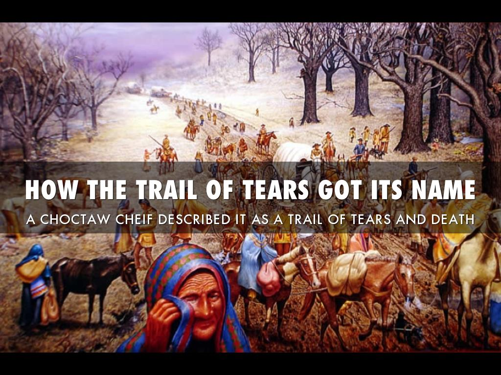 THE TRAIL OF TEARS by c047corless