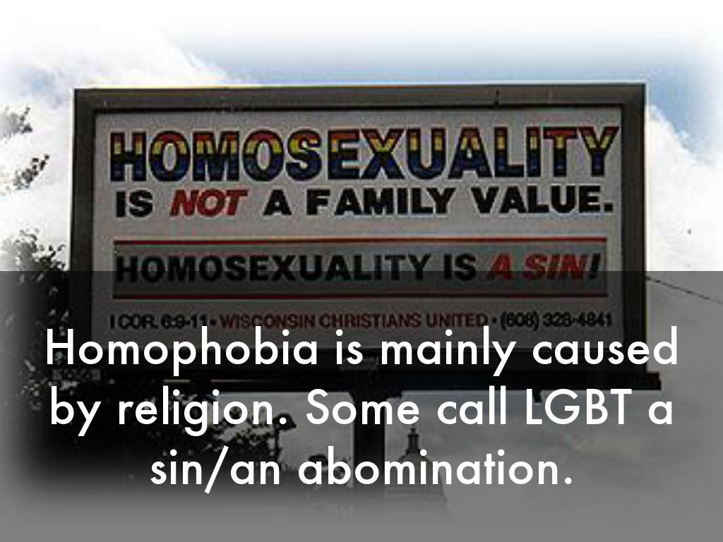 Is homosexuality a sin or an abomination