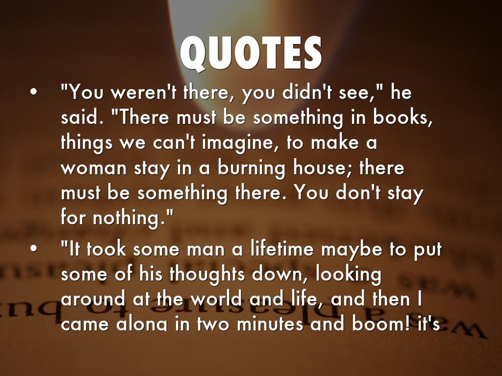 Quotes From Fahrenheit 451 Fahrenheit 451Isabelleastewart
