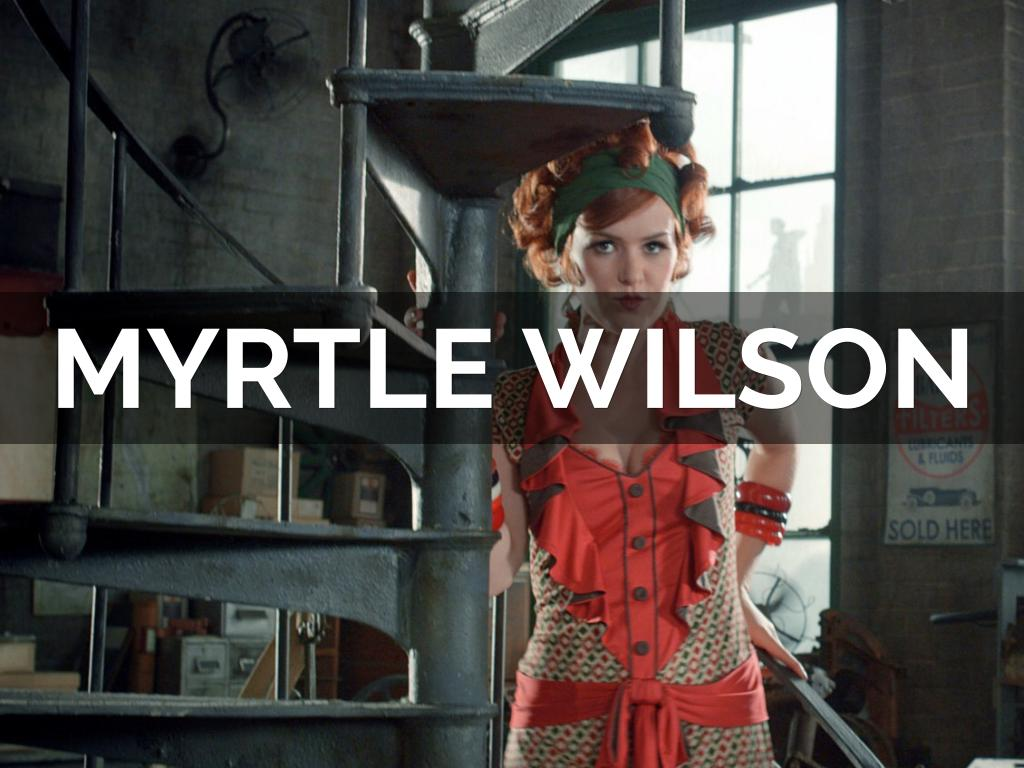 what is the purpose of myrtle wilson in the great gatsby