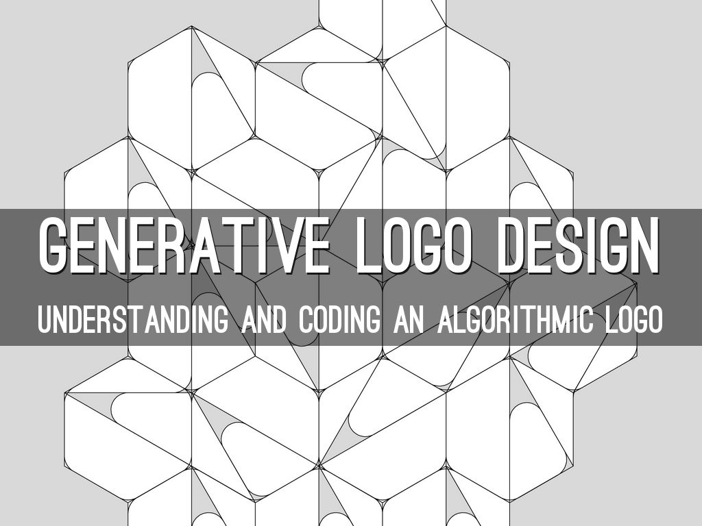 Generative Logo Design