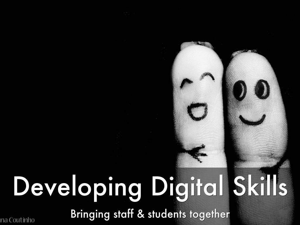 Bringing Staff and Students together to develop digital skills
