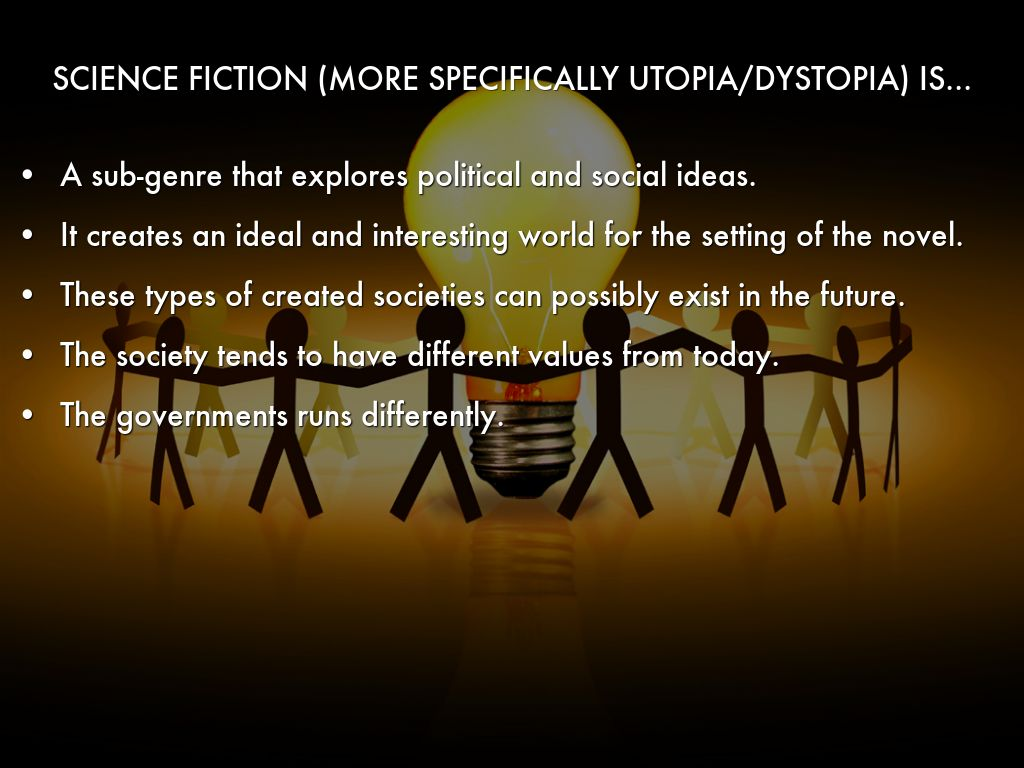 Science Fiction (Utopia/Dystopia) by Kevin Lu