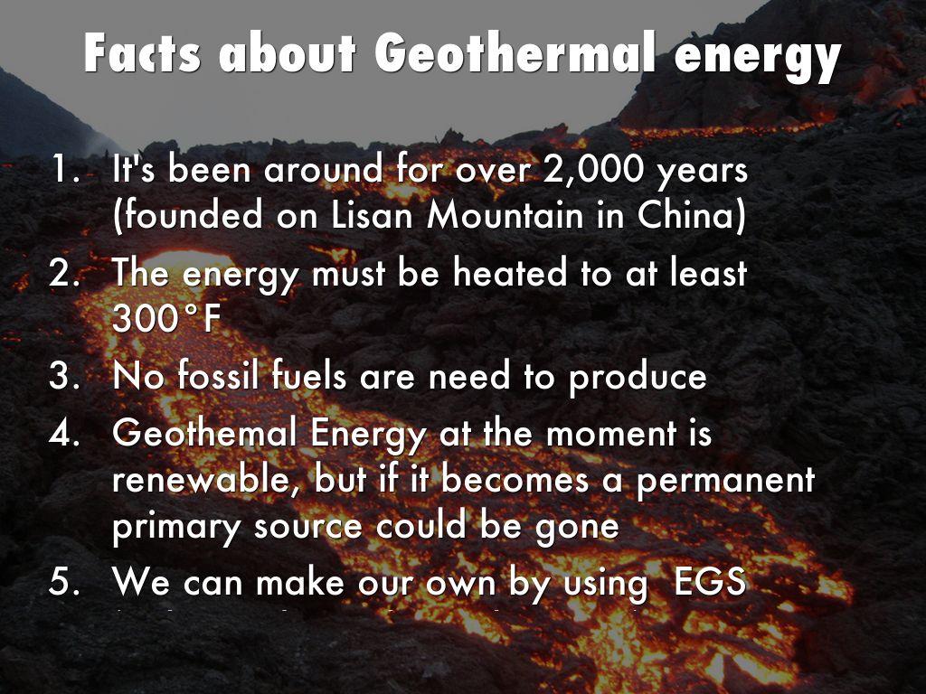 Geothermal Energy by andrewmerrick3