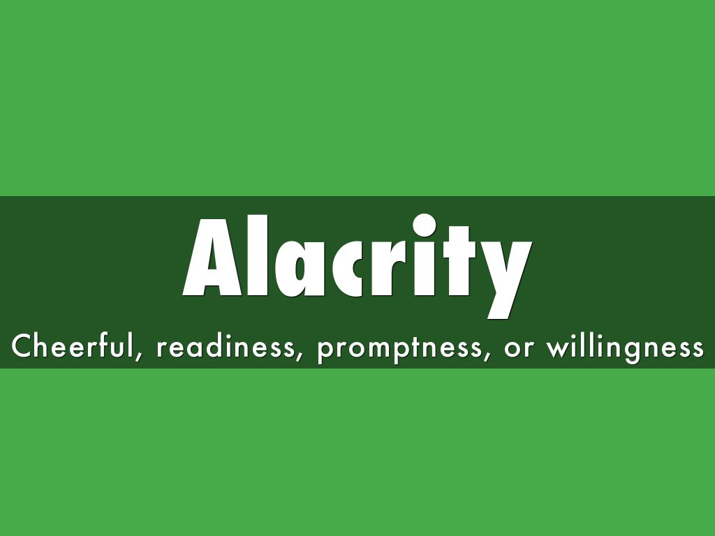 Alacrity by pojevict