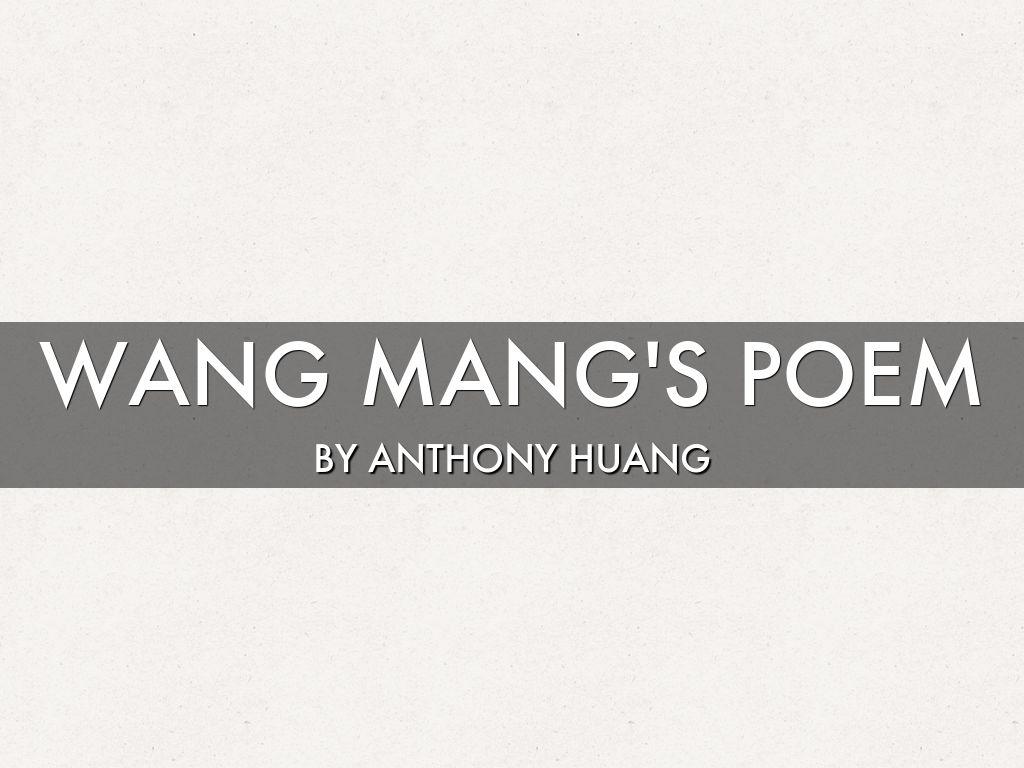 Liu Xiu Poem
