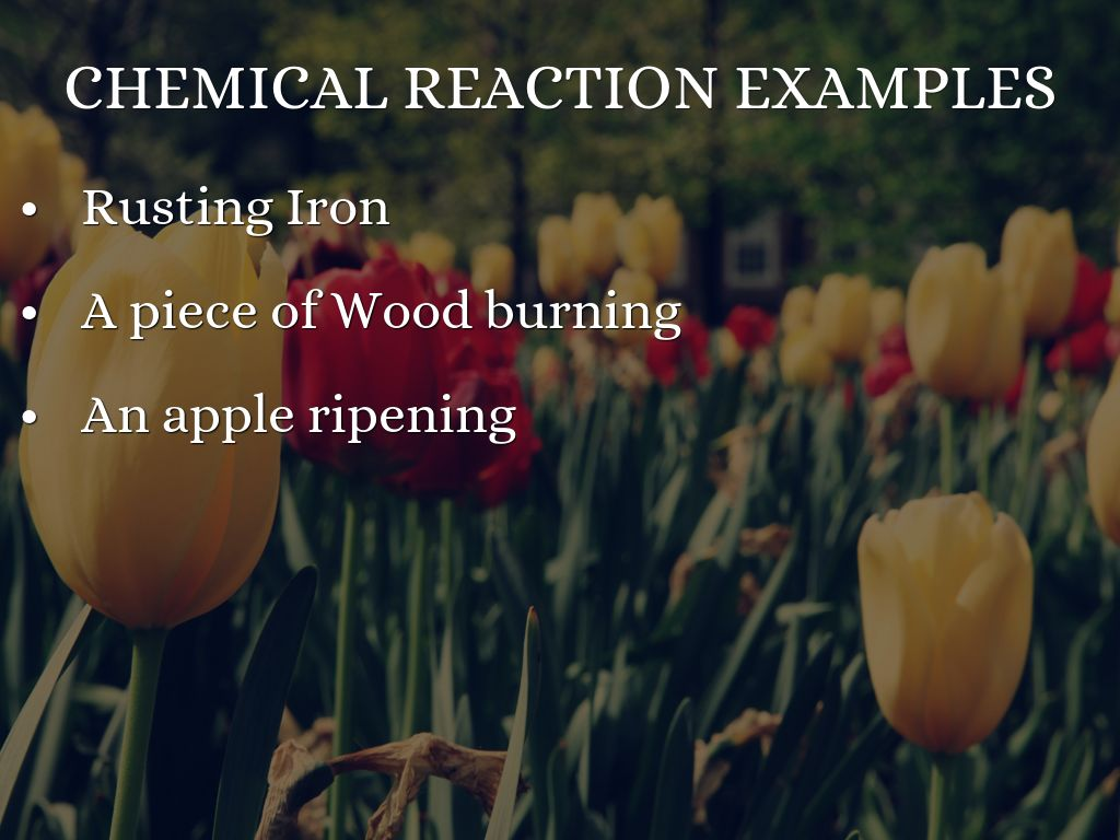 Chemical Reactions By Mvasquezguzman703134