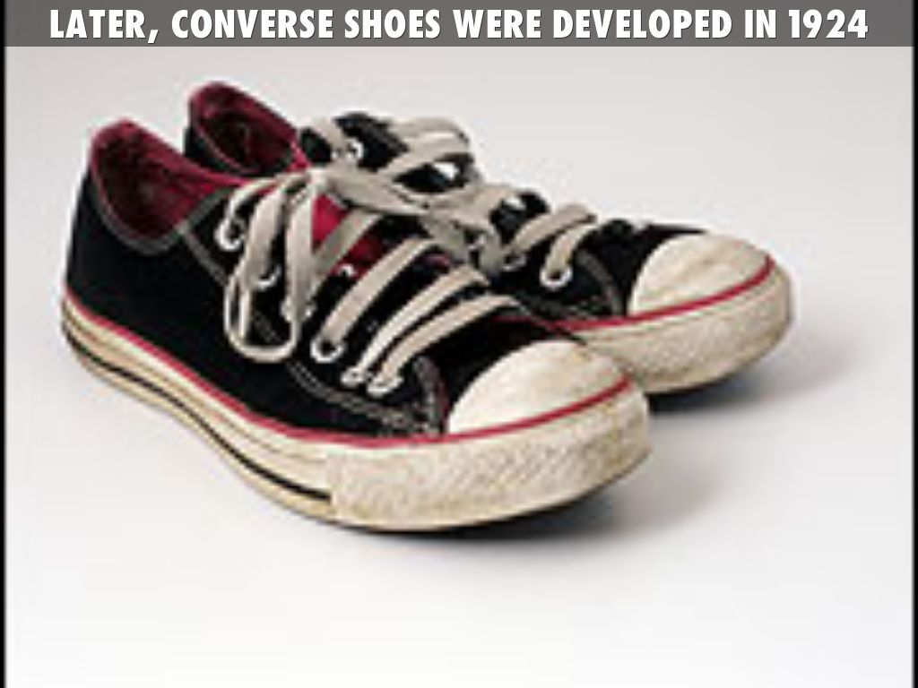 When Were Converse Tennis Shoes Invented