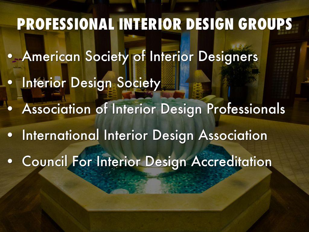 Professional Interior Design Groups