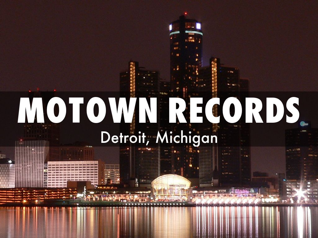 Motown Records By Allison Sheppard