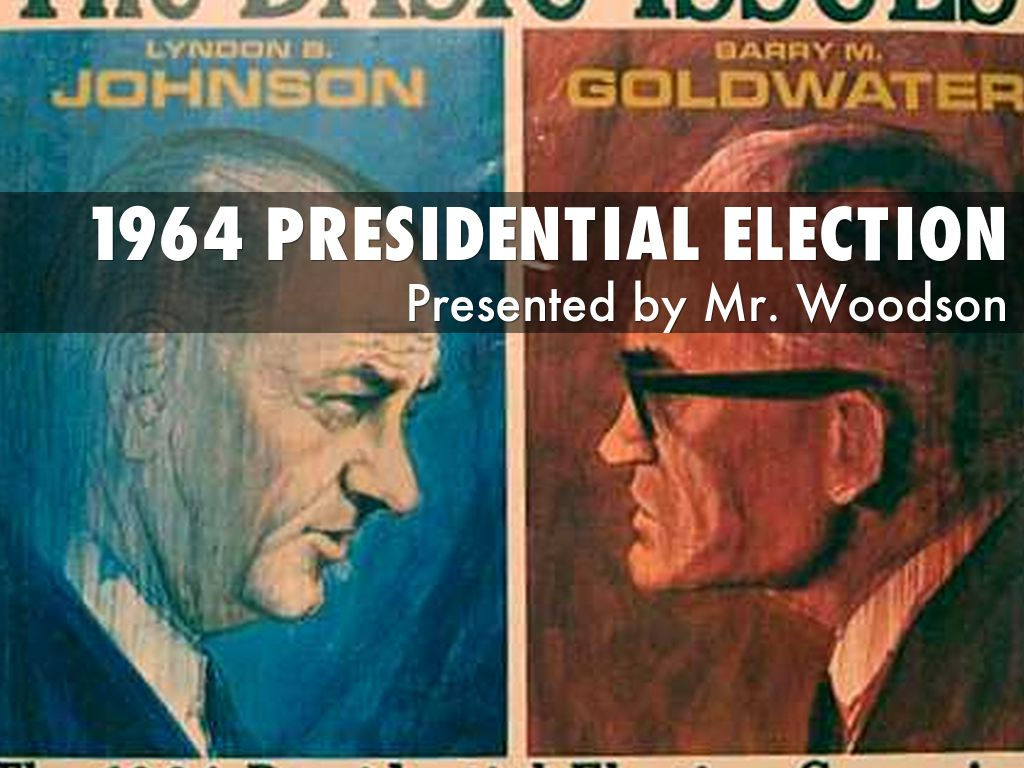 1964 Presidential Election By Jason Woodson