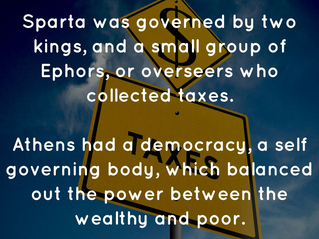 how was sparta governed