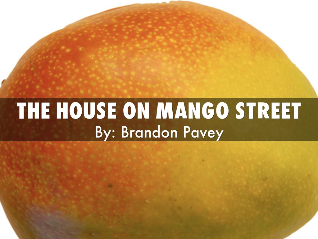 sparknotes the house on mango street
