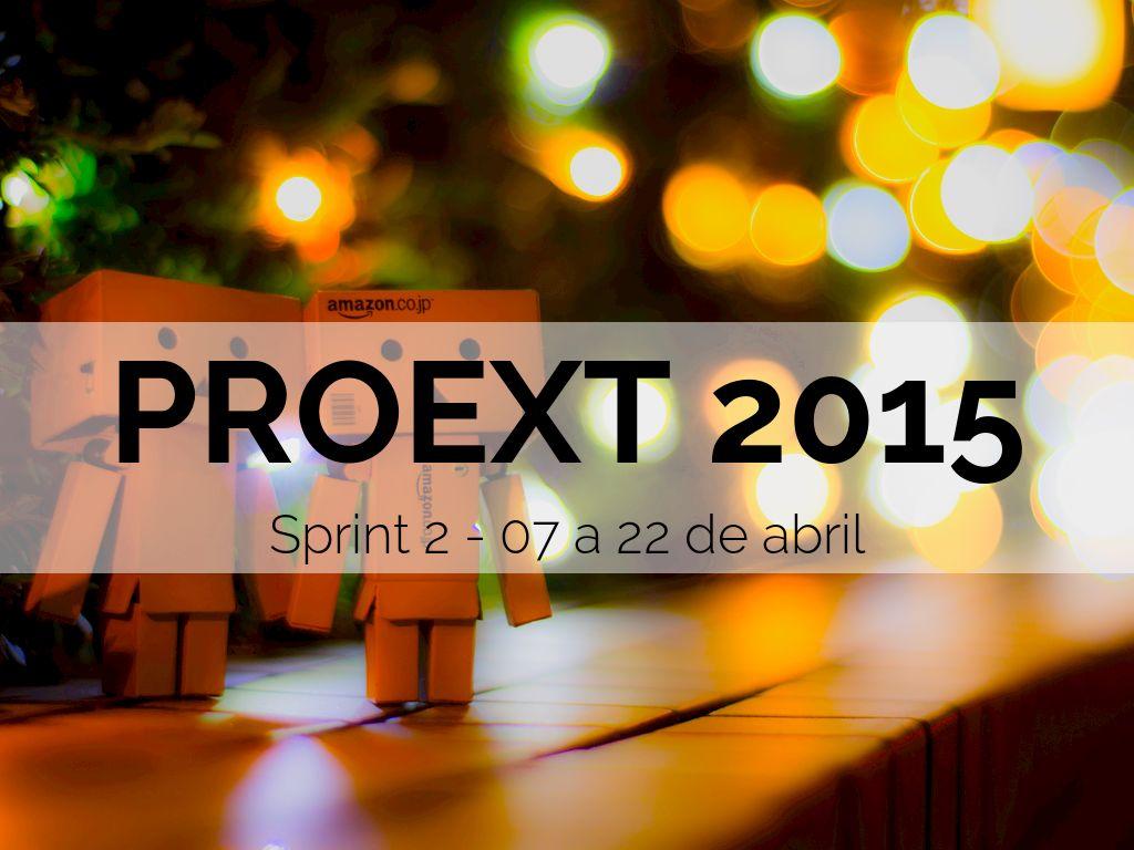 proext 2015 sprint 2