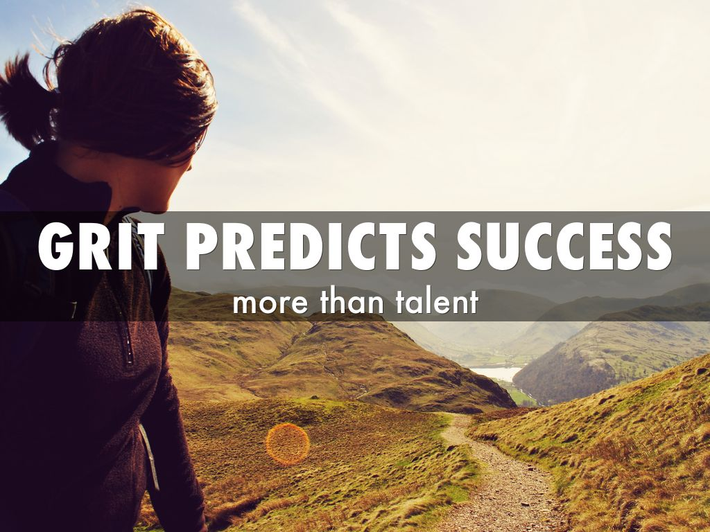 grit a predictor of academic professional What does grit & grace mean to you persistence and effort offer a better predictor of success in life than the about teaching academic.