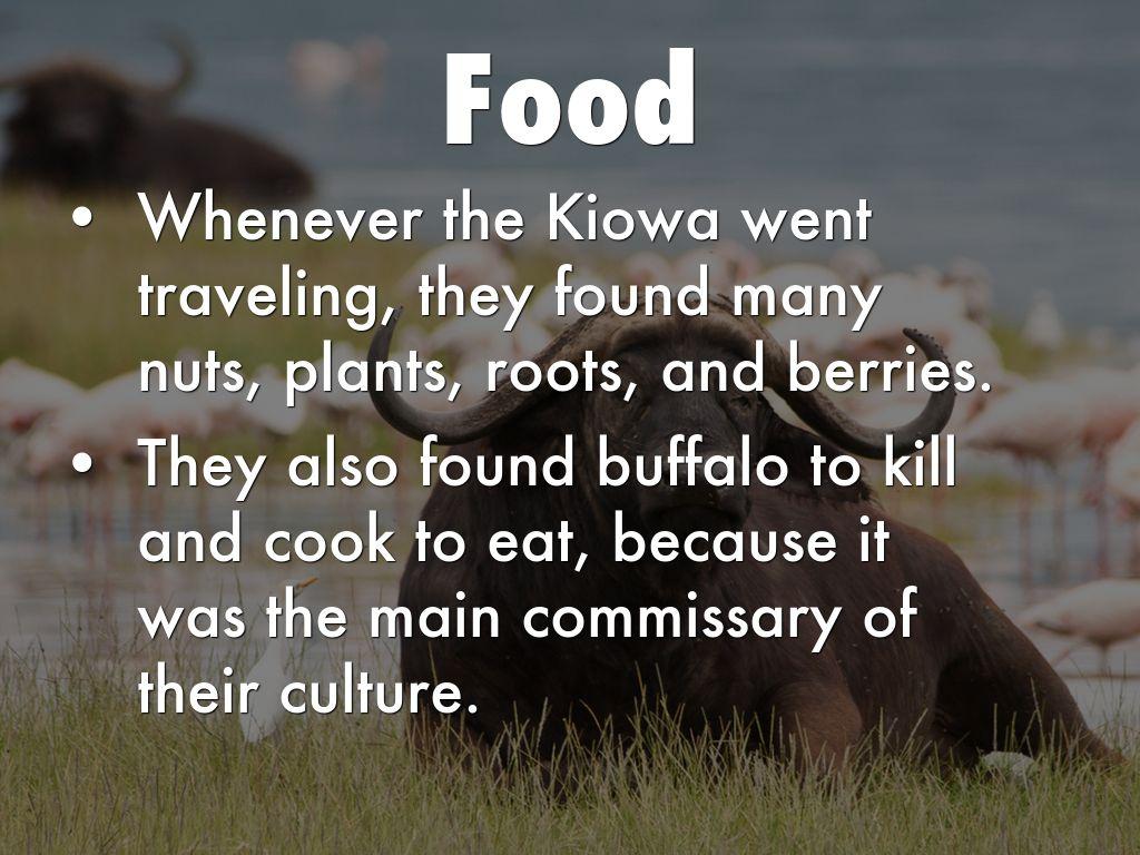 Kiowa Tribe by Andrewsb Kiowa Food