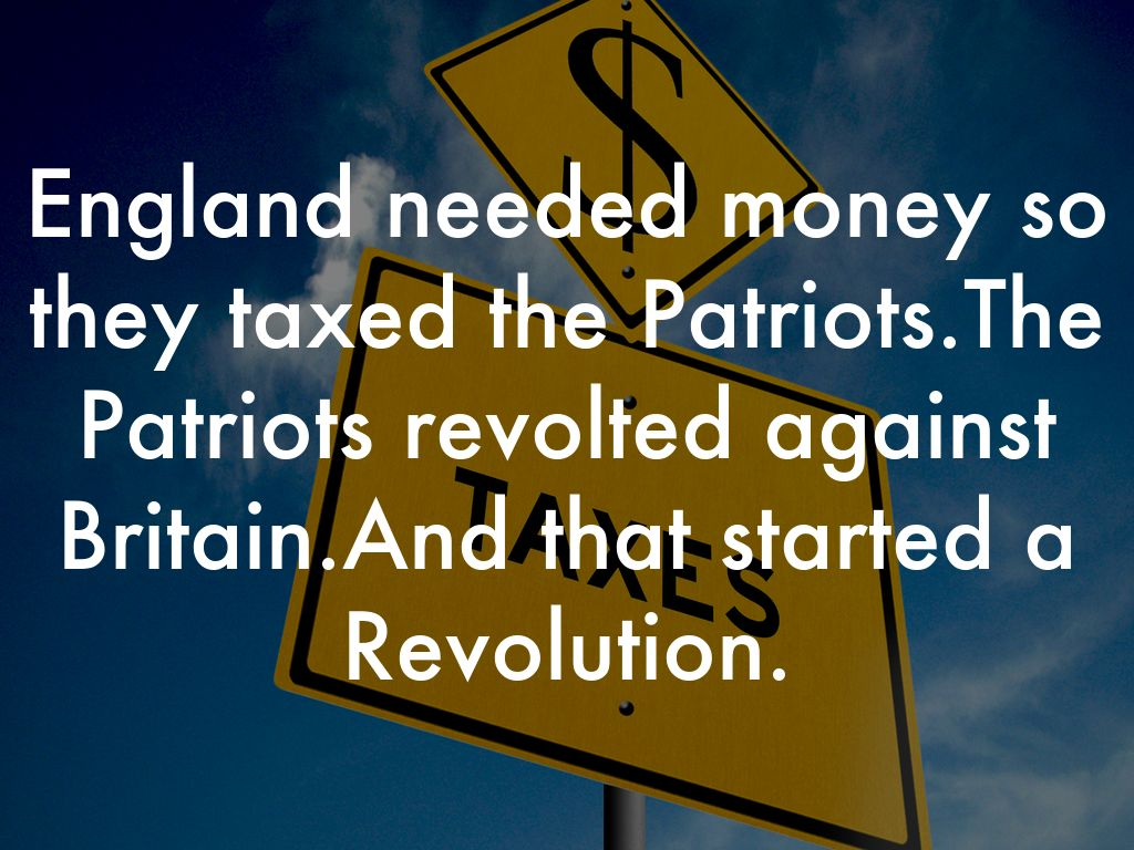 why america revolted against britian essay By the time of the onset of the american revolution  in north america alone the british victory in the seven years in this brief essay we will focus only on.