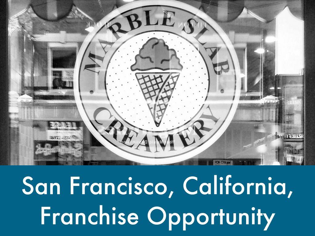 Marble Slab Creamery - San Francisco CA