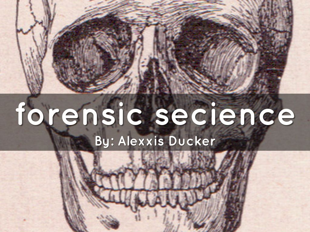 forensic secience