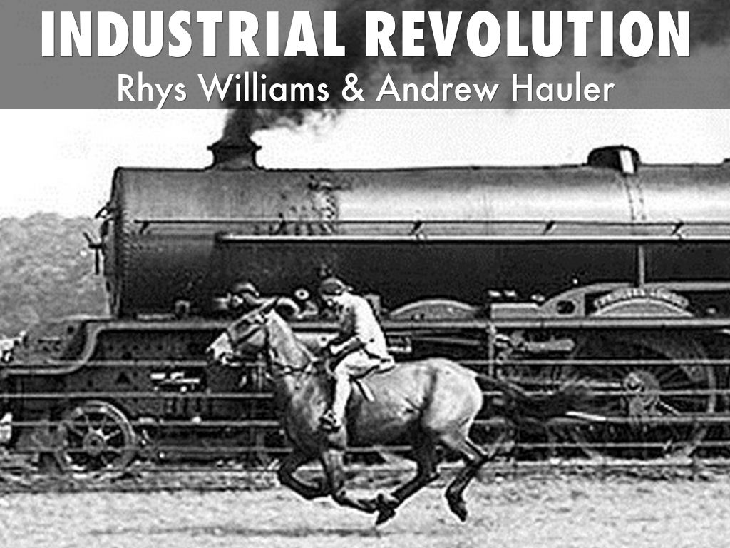 the industrial revolution and how it Beginning in the 19th century, advances in manufacturing revolutionize the american way of life.