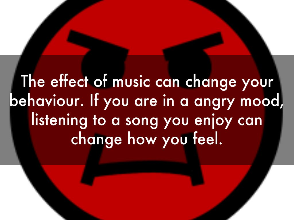the affect of music