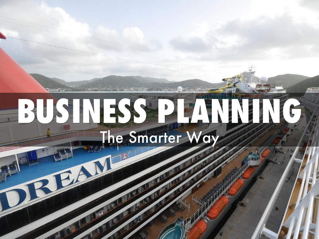 Business Planning - The Smarter Way
