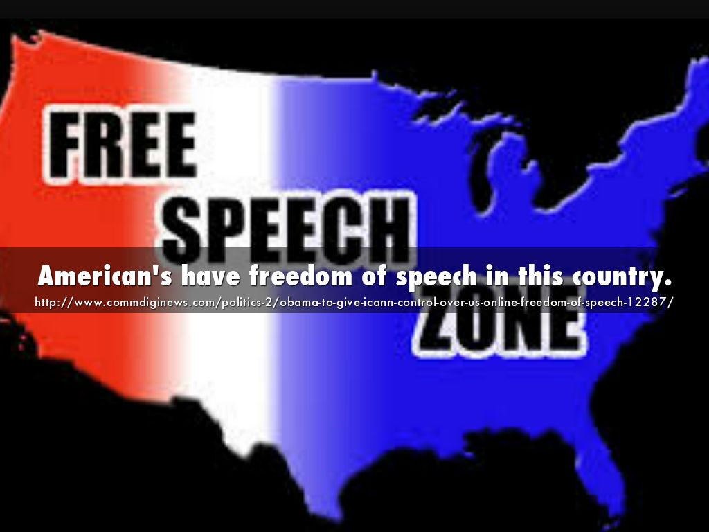 freedom of speech in america and its I believe the free speech in america is never too free by following reasons first americans have the right to choice what kind of speech will they in favor of, second if any kind of extreme speech is a crime, then the government is trying to enforce a typical ideology towards its people, lastly at least.