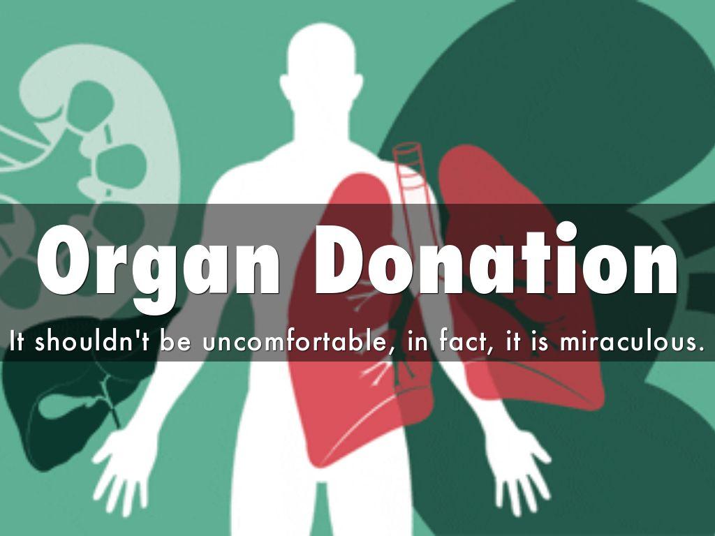 Organ donation presentation save lives.