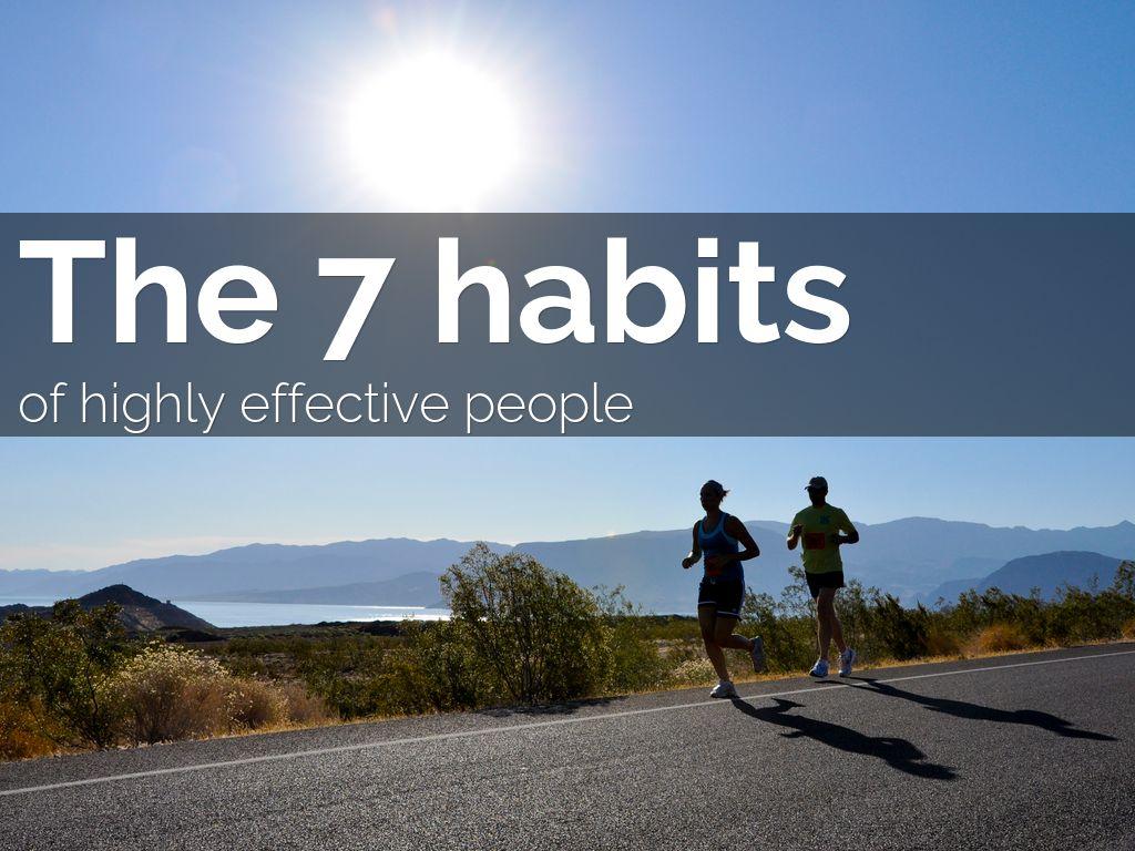 7 habits essay