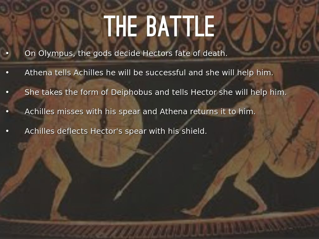 Essay on A Comparison of Achilles and Hector