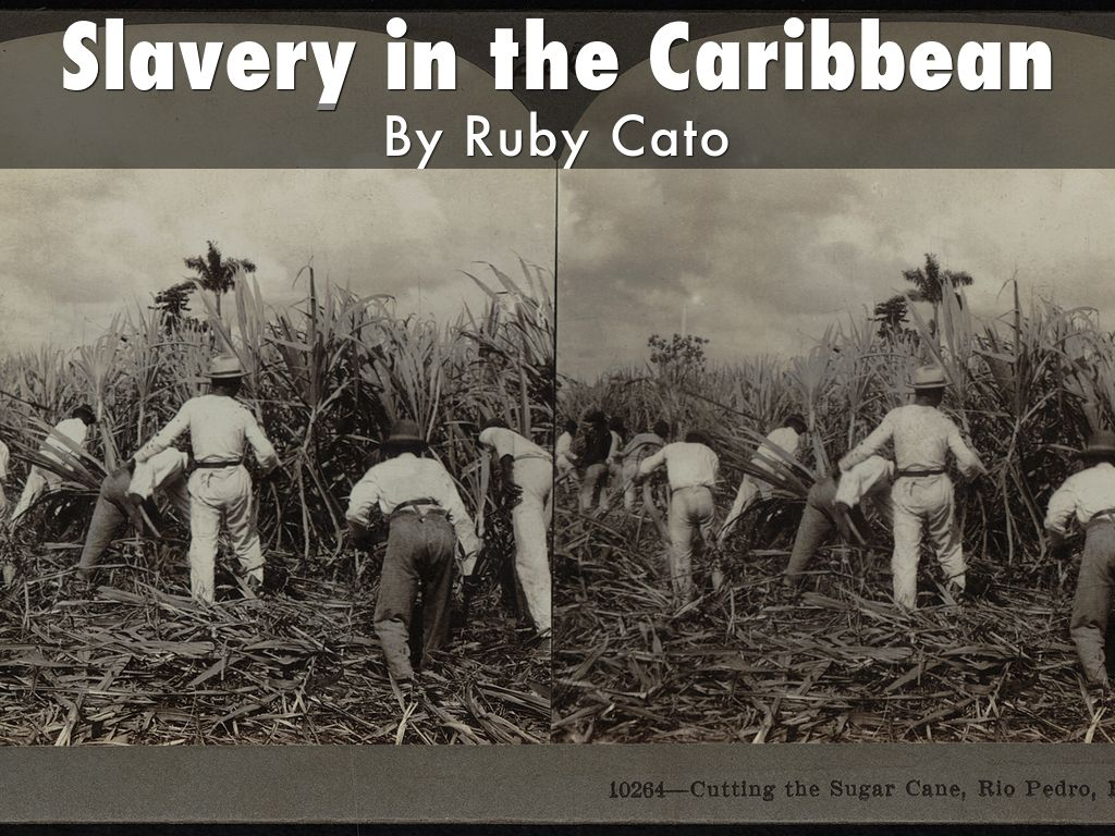 slavery in the caribbean Underdevelopment in the caribbean is a direct legacy of the slave trade, and descendants of enslaved africans should be compensated accordingly.