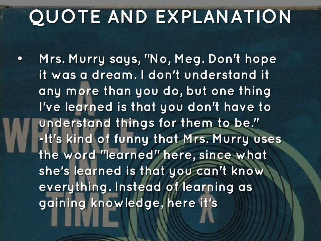 Quotes From A Wrinkle In Time: Summer Reading Activity #3 A Wrinkle In Time Jomana By