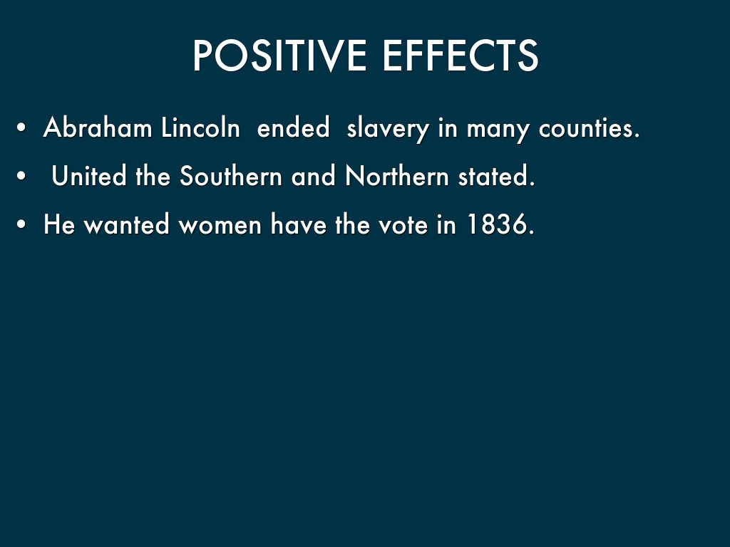 Abraham Lincoln and Slavery