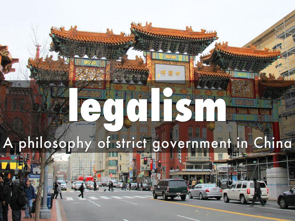 china legalism
